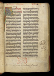 Gervase of Canterbury, History of Canterbury f.1r